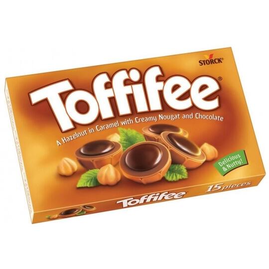 "Caramel candy box ""Toffifee"""