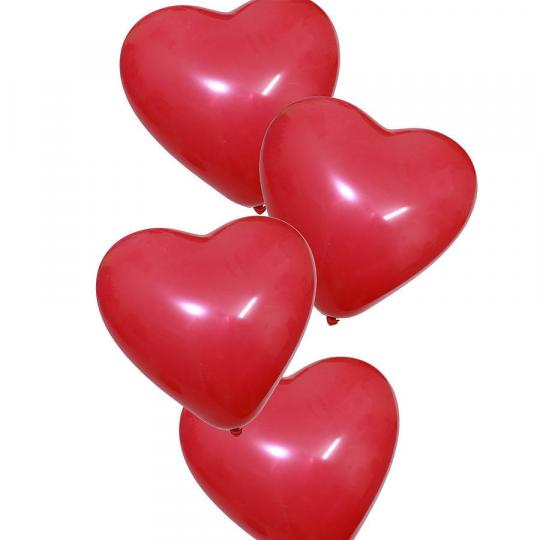 """Balionai su heliu """"Širdelė"""""""