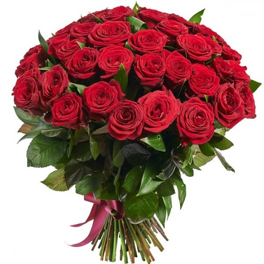 51 Red roses (60-70cm)