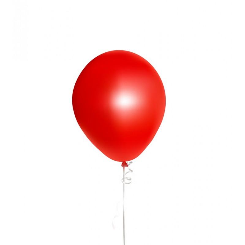 Raudonas balionas su heliu
