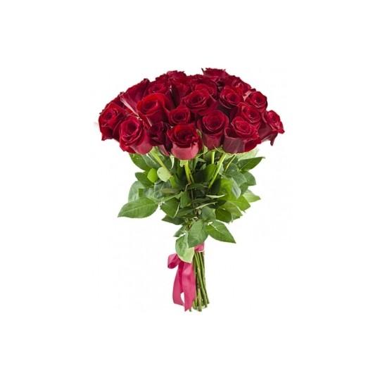 25 Raudonos rožės